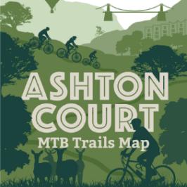 Ashton Court mountain bike trails map cover