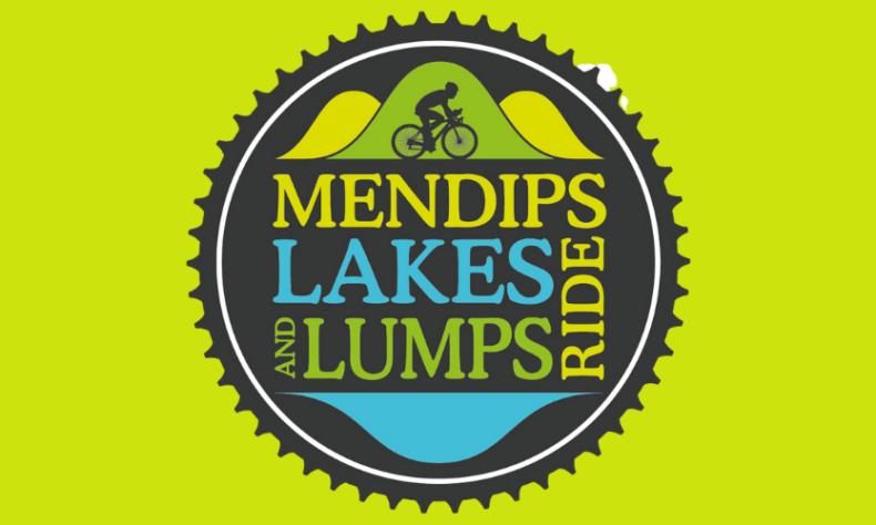 mendip lakes and lumps ride logo