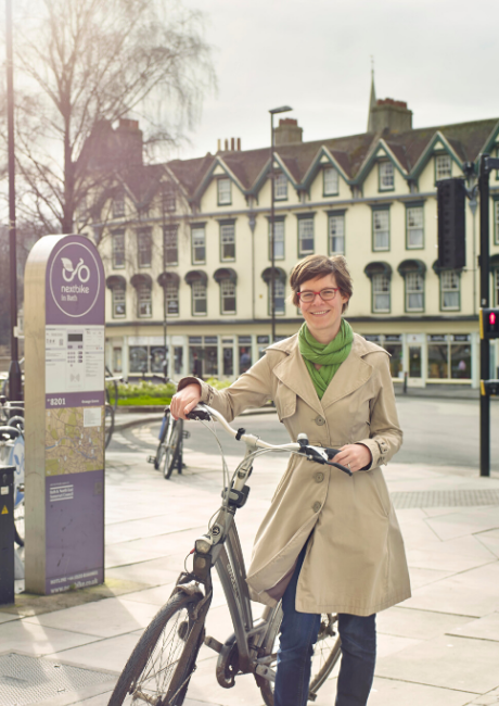 Saskia - Guildhall Bath - I Bike It case study profile