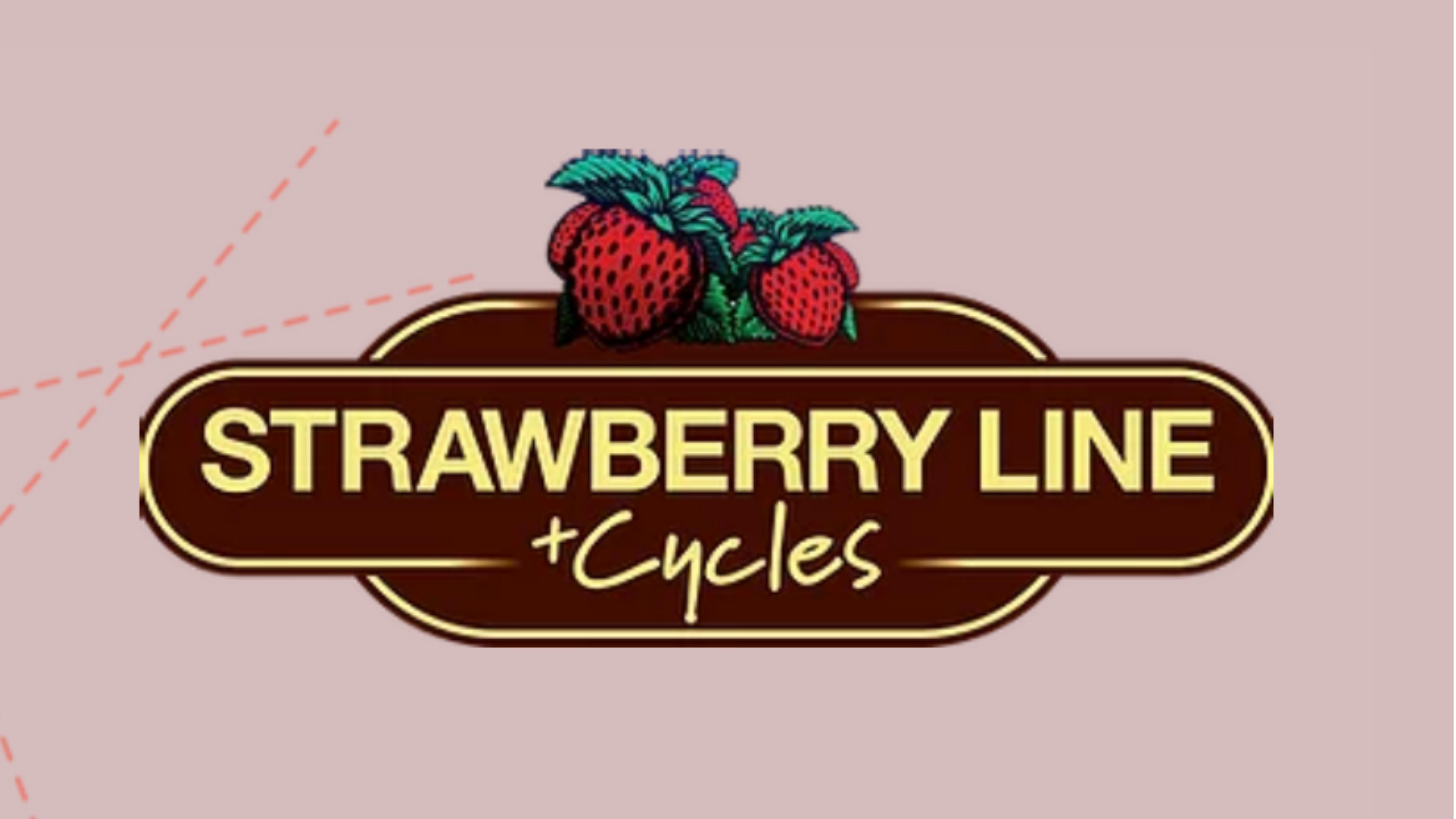 Strawberry Line Cycles logo
