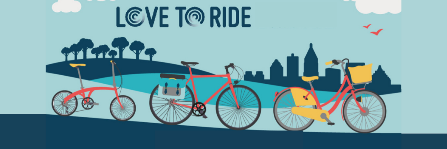 Love to ride banner image