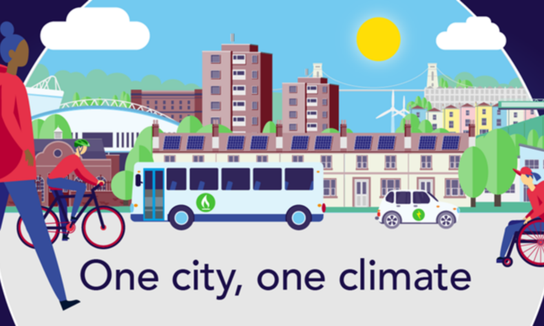 One city One climate banner
