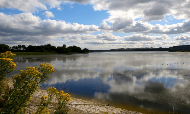 Chew Valley lake in West of England