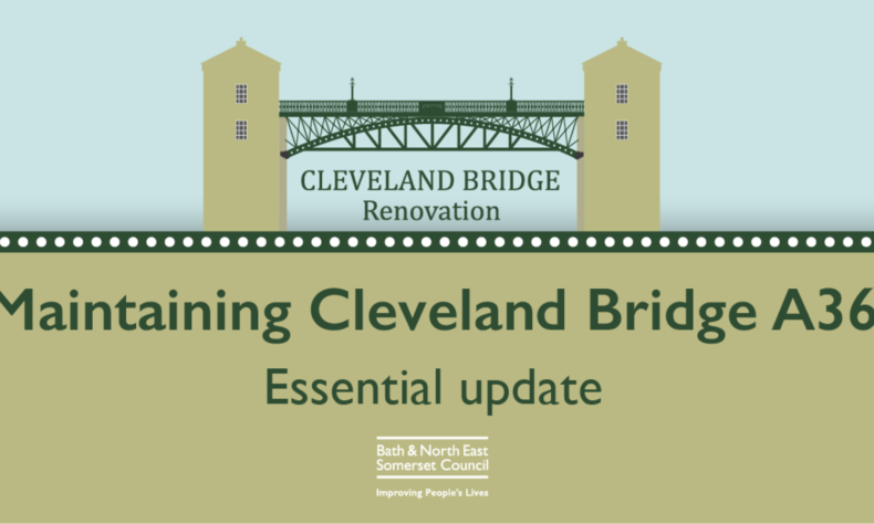 Illustrative artwork of Cleveland Bridge road closure
