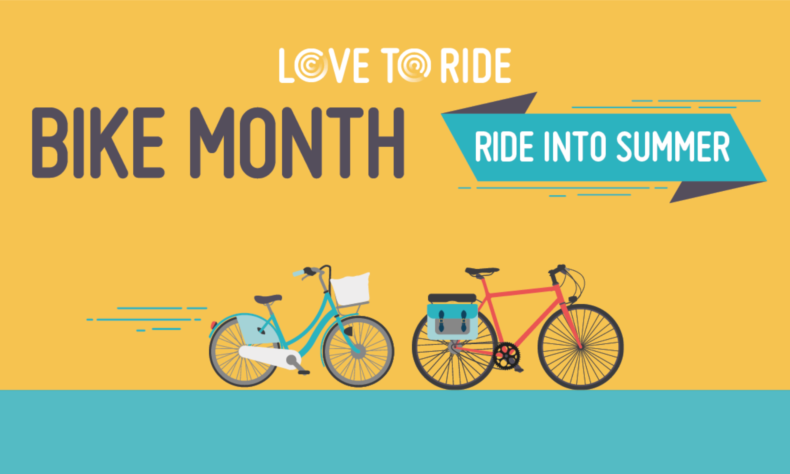Love To Ride Bike Month 2021 logo