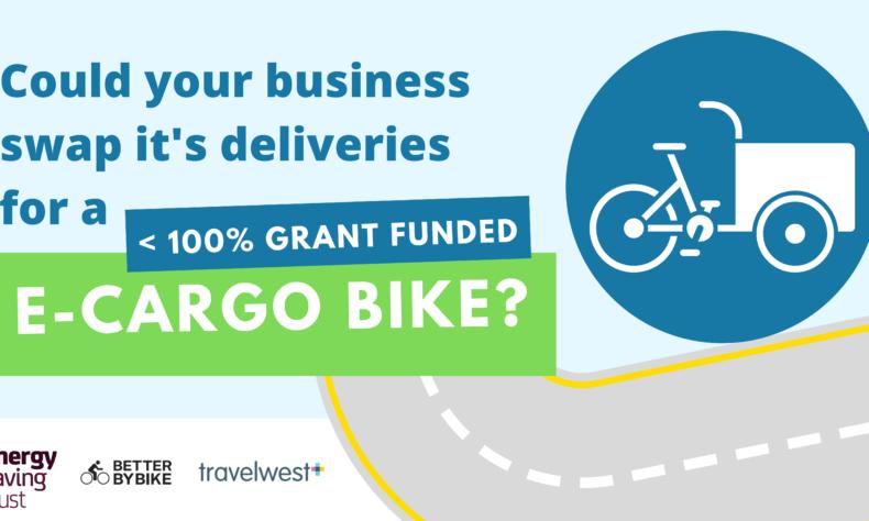 Energy Saving Trust ecargo bike grants in Bristol and NSomerst