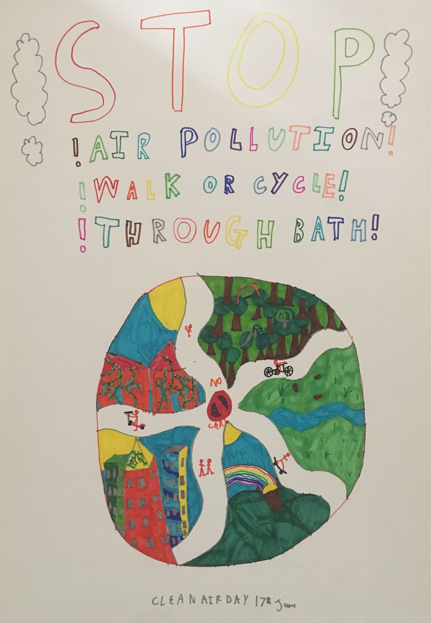 First Place Poster Competition Lois Rodgers